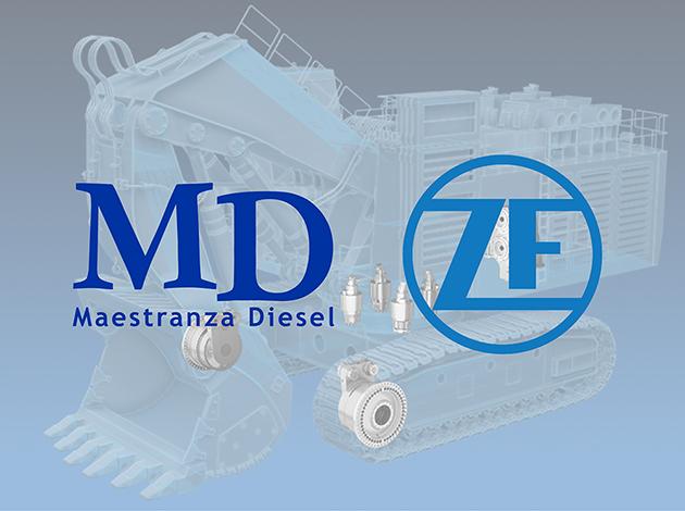 MD se convierte nuevamente en el único taller autorizado de ZF Industrieantriebe Witten en Chile.